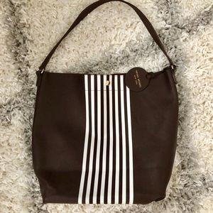 Henri Bendel Vintage Striped Tote Bag